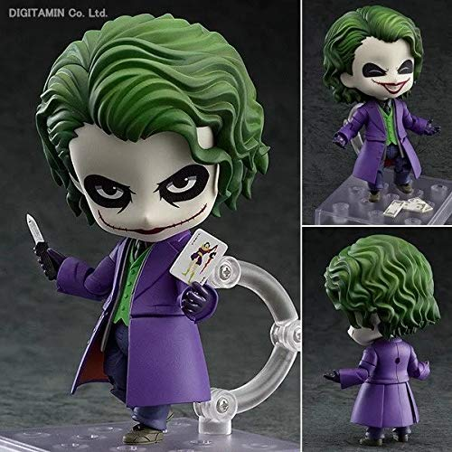 New hot 10cm Q Version Suicide Squad Joker Batman Justice League Movable Action Figure Toys Collection