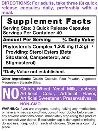 Buy plant sterol supplements