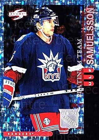 (CI) Ulf Samuelsson Hockey Card 1997-98 Score New York Rangers Platinum 15 fc1832367