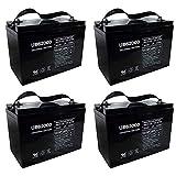6 volt trailer battery - UB62000 6V 200Ah Battery for M83CHP06V27 RA6-200 PS-62000 Pallet Jack Battery - 4 Pack