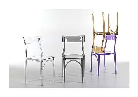 Colico sedia milano policarbonato trasparente set da sedie