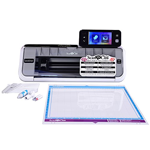 "Brother Electronic Cutting Machine, CM350, ScanNCut2, 4.85"" LCD Touch Screen, Wireless Network..."