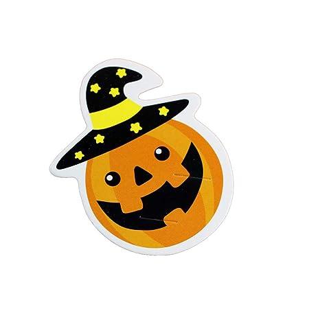 UPKOCH 50 Tarjetas de chupetes Halloween Gosht Tarjetas de ...