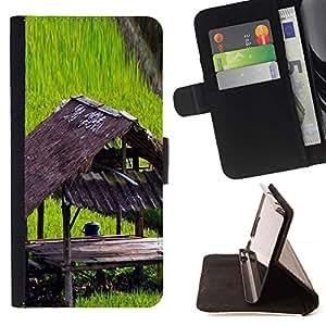 LG Magna / G4C / H525N H522Y H520N H502F H500F (G4 MINI,NOT FOR LG G4)Case , Planta Naturaleza Forrest Flor 100- la tarjeta de Crédito Slots PU Funda de cuero Monedero caso cubierta de piel