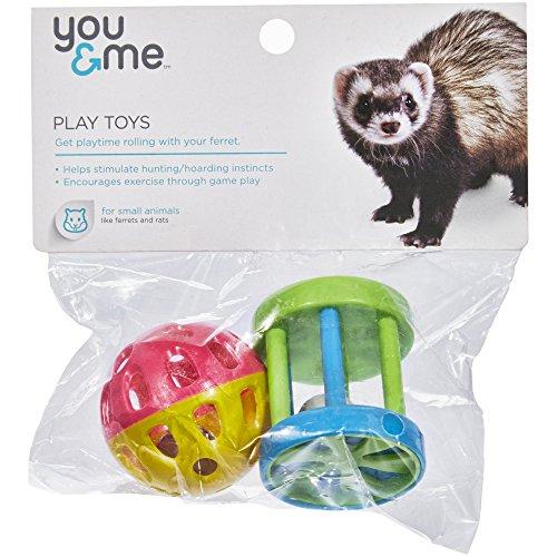 You & Me Ferret Fun Ball/ Wagon Wheel ()