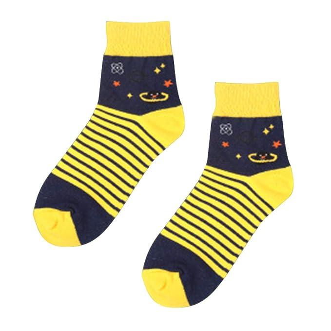 Gysad 1 par Multicolor Calcetines de algodon Estilo de pareja Calcetines de invierno Suave y comodo Calcetines divertidos hombre Caliente Calcetines de ...