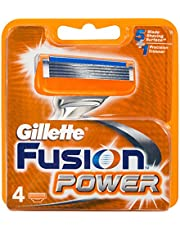 Gillette Fusion Razor Cartridges Refill, 4ct