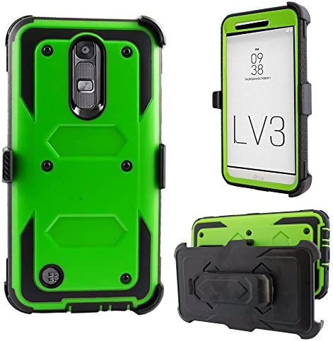 fits w hybrid case FYL Leather Case Pouch for TMobile//MetroPCS LG Optimus L70 MS323