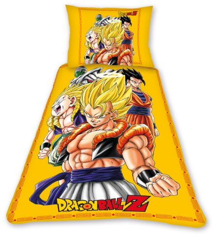 Belltex DBO AT DRAGON Parure de lit Dragonball Z Special 140 x 200