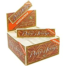 6 Pure Hemp Unbleached Brown King Size Natural Gum Cigarette Rolling Papers Packs (33 Leaves/Pack) + Beamer Smoke Sticker. 4 Legal Smoking Herbs, Rolling Tobacco, Herbal Mixes, Rollers, Injector, Ryo