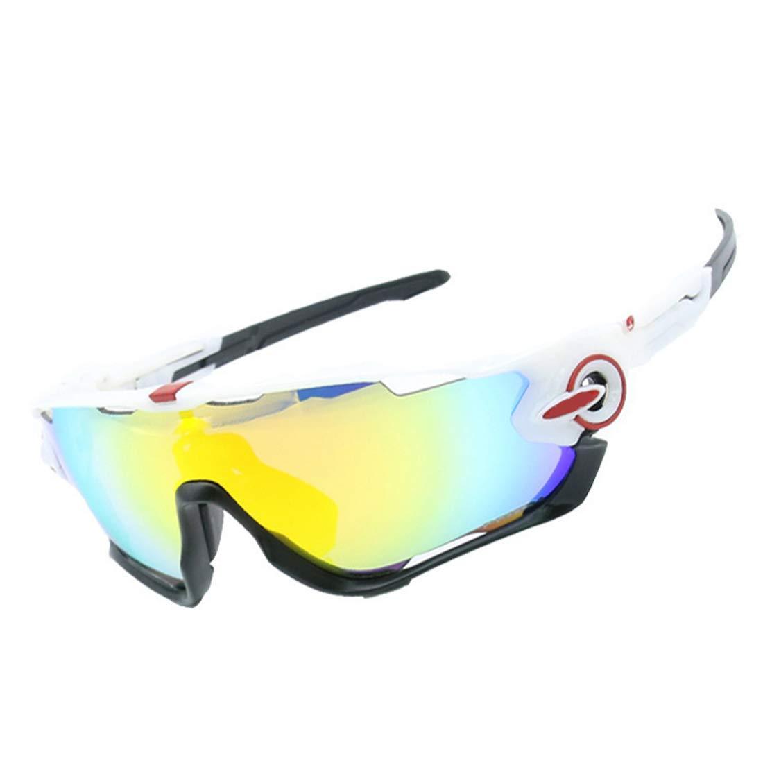 JESSIEKERVIN YY3 Erwachsene Fahrradbrillen Fahrrad Farbwechselbrillen Outdoorbrillen Geeignet für Outdoor-Liebhaber.