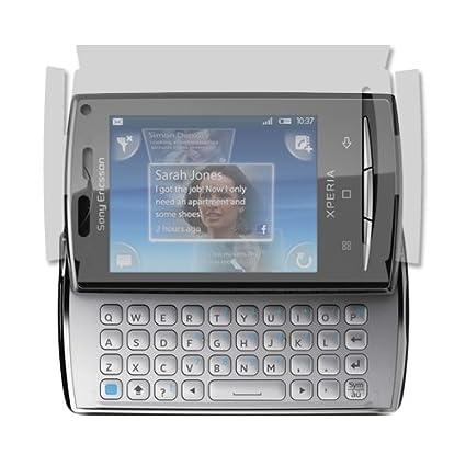 Sony Ericsson Xperia X10 Mini Pro Screen Protector Skinomi Techskin Full Coverage Screen Protector For Sony Ericsson Xperia X10 Mini Pro Clear Hd