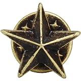 小ミニサイズ スター星型 スタッズシンプルピンバッジ