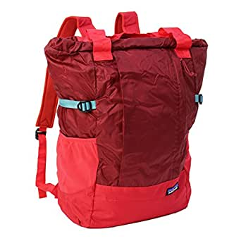 PATAGONIA LIGHTWEIGHT TRAVEL TOTE PACK DRUMFIRE RED