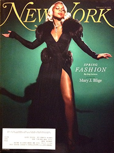 New York Magazine (February 5, 2018 - February 18, 2018) Spring Fashion Mary J. Blige (Repeller Single)