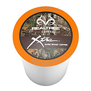 Realtree Xtra Single-Cup Coffee for Keurig K-Cup Brewers 40 Count