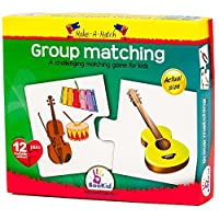 Make A Match Baby Puzzle Games - Group Matching. For 24+ Months Old by BooKid Toys