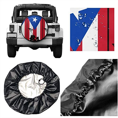 BAG9S-G Army Veterans Tire Covers Car SUV Camper Travel Trailer Spare Tire Wheel Covers