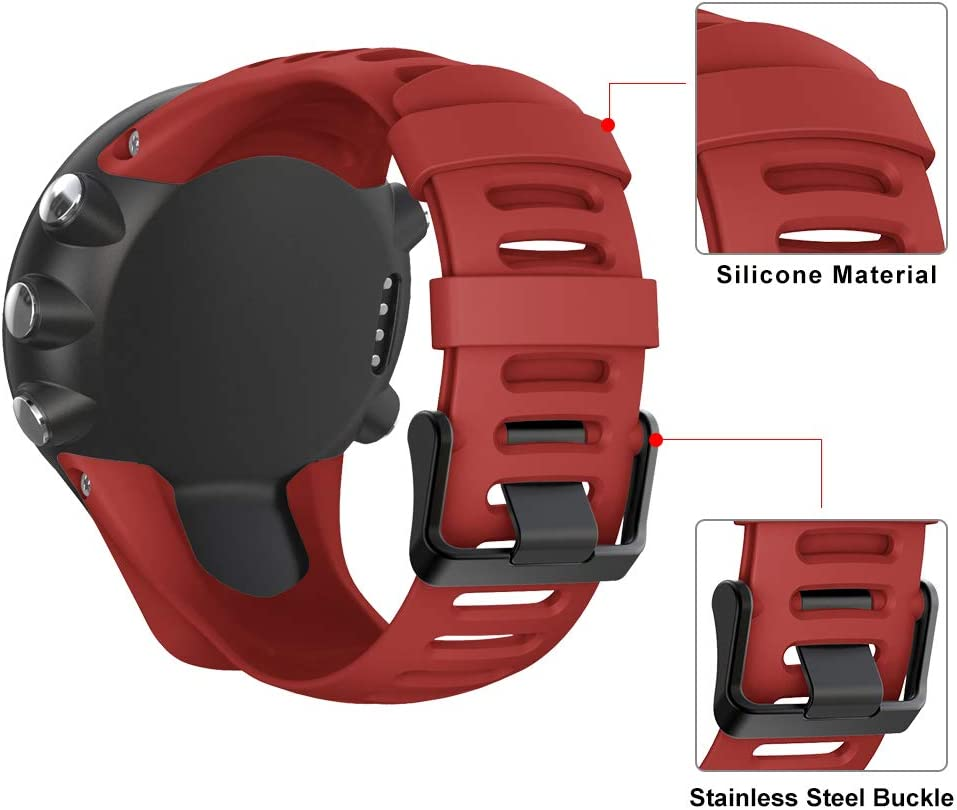 2S 3 Run 3 Peak YPSNH Compatibile per Suunto Ambit 3 Cinturino in Gomma Morbida di Ricambio Traspirante Cinturino per Suunto Ambit 1//2 3 Sport 2R