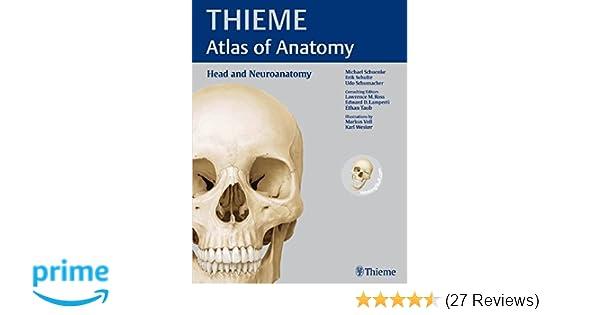Head and Neuroanatomy (THIEME Atlas of Anatomy): 9781604062960 ...
