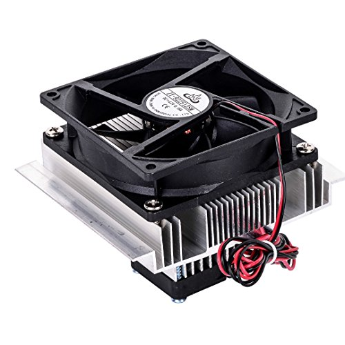 SODIAL TEC-12706 Thermoelectric Peltier Refrigeration Cooling System Kit Cooler Fan DIY by SODIAL (Image #5)
