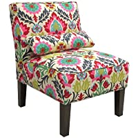 Skyline Furniture Armless Chair in Santa Maria Desert Flower
