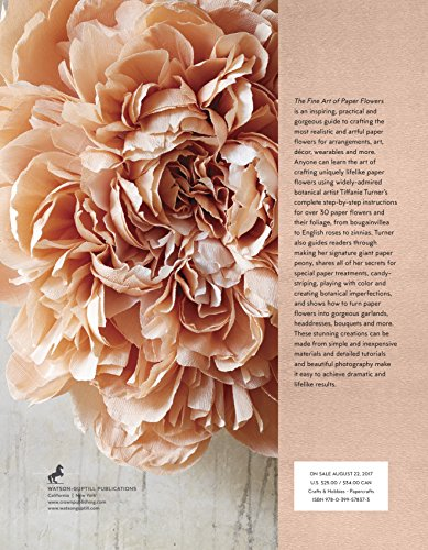 The Fine Art of Paper Flowers: A Guide to Making Beautiful and Lifelike Botanicals by Watson-Guptill (Image #11)