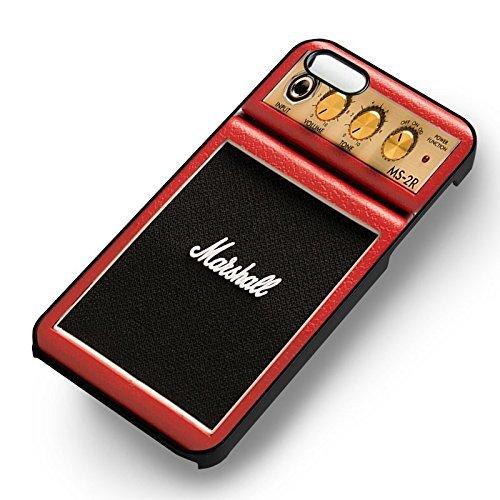 Marshall Micro Amp Series Red Mini pour Coque Iphone 6 et Coque Iphone 6s Case (Noir Boîtier en plastique dur) Y2R3PR