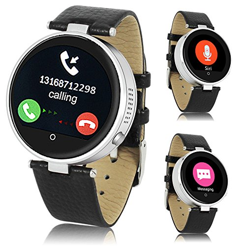 Indigi Bluetooth Smart Watch Heart Rate Monitor Fitness Tracker iOS Android Great ~Gift