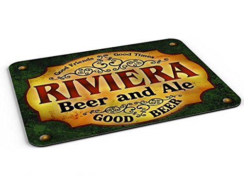 Price comparison product image Riviera Beer & Ale Mousepad/Desk Valet/Coffee Station Mat