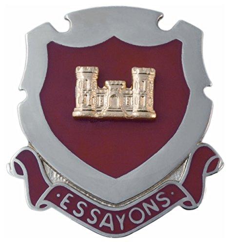 Regimental Crest Engineer (ENG) Pin ()