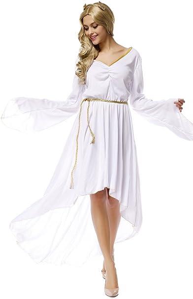 toyobuy Halloween Cosplay Disfraz Diosa Griega vestido largo ...
