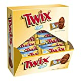 TWIX Easter Caramel Singles Size Chocolate Cookie Bar Candy Eggs 1.06oz Deal (Small Image)