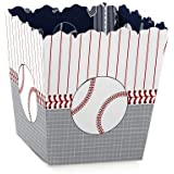 Big Dot of Happiness Batter Up - Baseball - Party Goodie Favor Boxes - Baby Shower or Birthday Party Treat Candy Boxes - Set of 12