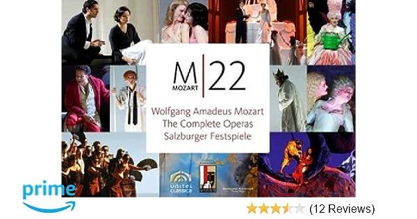 Amazon.com: Mozart - The Salzburg Festspiele Opera Boxset: Don Giovanni, Le Nozze di Figaro, Cosi fan Tutte, Idomeneo, La Clemenza di Tito, Mitridate, ...