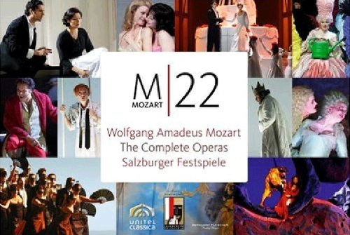 Mozart - The Salzburg Festspiele Opera Boxset by Not Rated