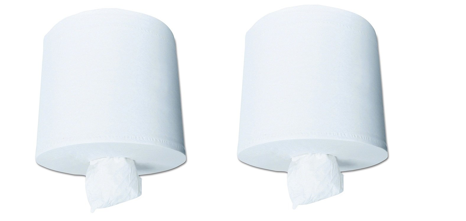 Scott Center Pull Paper Towels (01010), White, Perforated Hand Paper Towels, 500 Towels / Roll, 4 Rolls / Case (2-(Pack))