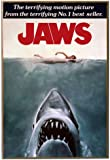 Silver Buffalo JW0136 Jaws Movie Poster Wood Wall Decor, 13 in. x 19 in.