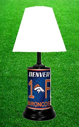 DENVER BRONCOS TABLE LAMP