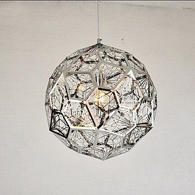 CC Silber Silber Brick Bar Mesh Kronleuchter , Weiß-220-240v