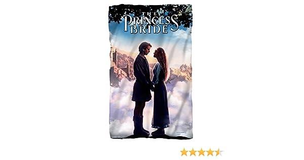 THE PRINCESS BRIDE STORYBOOK LOVE FLEECE OR PLUSH THROW BLANKET 36X58