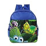 Kids A Bug's Life School Backpack Cute Baby Boys Girls School Bags RoyalBlue