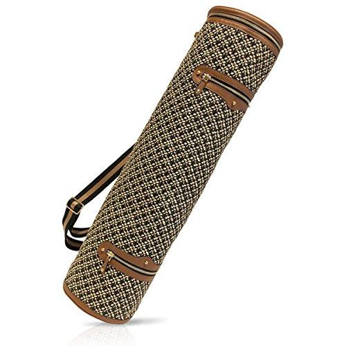 Eric Javits Luxury Fashion Designer Women's Handbag - Om Yoga Mat Case - Mali by Eric Javits