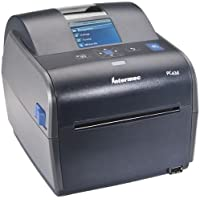 Intermec PC43DA00100301 Direct Thermal Printer - Monochrome - Desktop - Label Print - 4.20 Print Width - 6 in/s Mono - 300 dpi - 128 MB - USB - LCD - 4.70 - 35