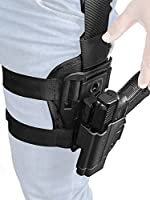 Orpaz Glock 19 Holster Fits Also Glock 17 Glock 22 Glock 23 Glock 26 Glock 27 Glock 34 & More