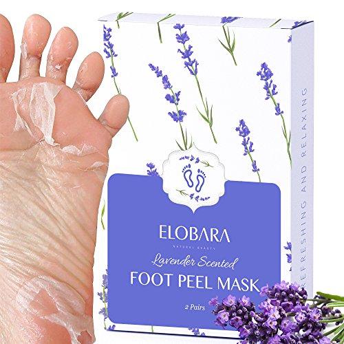 2 Pairs Foot Peeling Mask Exfoliating Foot Peel Mask, Remove Callus and...