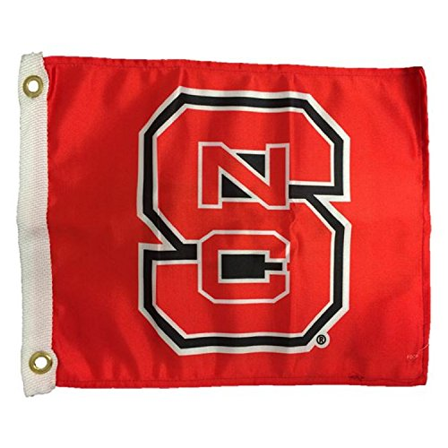 - NCAA North Carolina State Wolfpack Boat/Golf Cart Flag