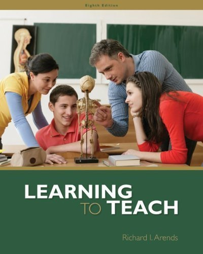 Learning to Teach by Richard Arends (2008-10-31) PDF
