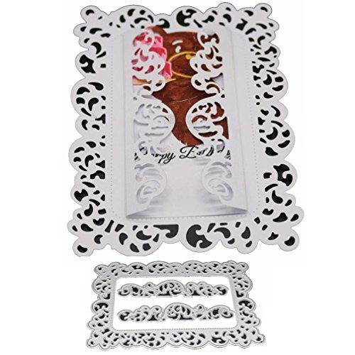 Flower Die Cut,iHPH7 Hearts Metal Cutting Dies Stencils DIY Scrapbooking Album Paper Card Making 765