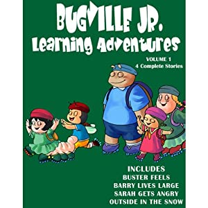 Bugville Jr. Learning Adventures Collection #1 Audiobook